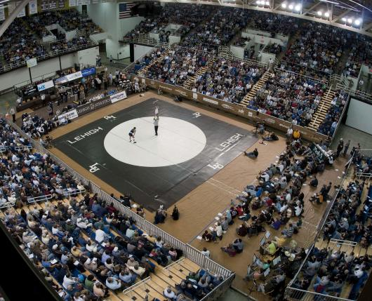 Lehigh Athletics - Stabler Arena Wrestling 01