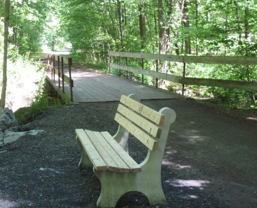 Benches on Trail
