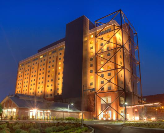 Hotel Exterior at Wind Creek Bethlehem