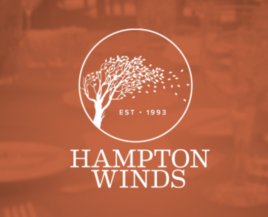 Hampton Winds Logo Splash