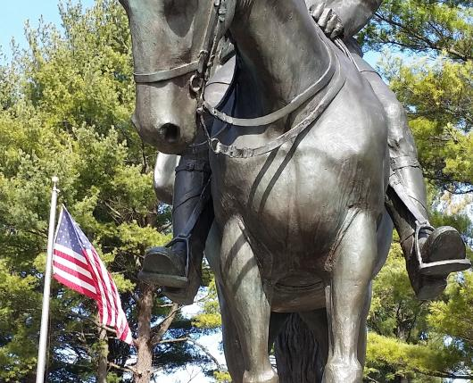 Trexler Memorial Park - Statue