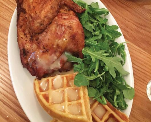 union & Finch chicken and waffles