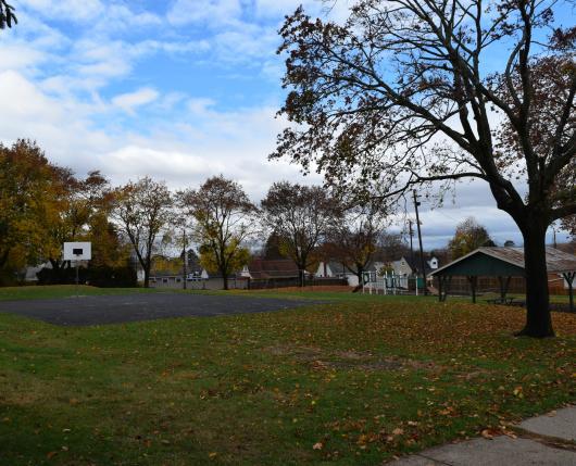 Walden Terrace - Court and Pavilion