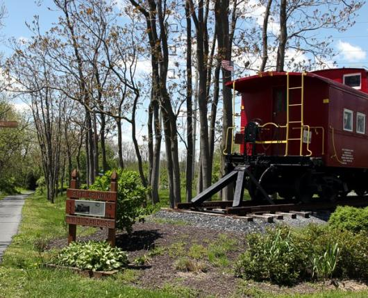 Signage and Caboose