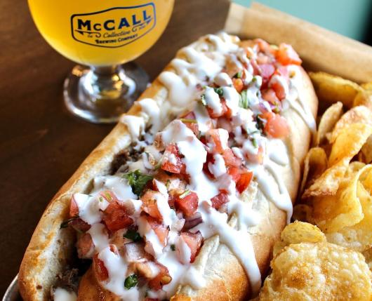 McCall Collective Brewing Company: Cheesesteak night Thursdays