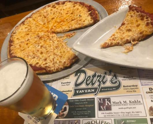 Pizza + Beer