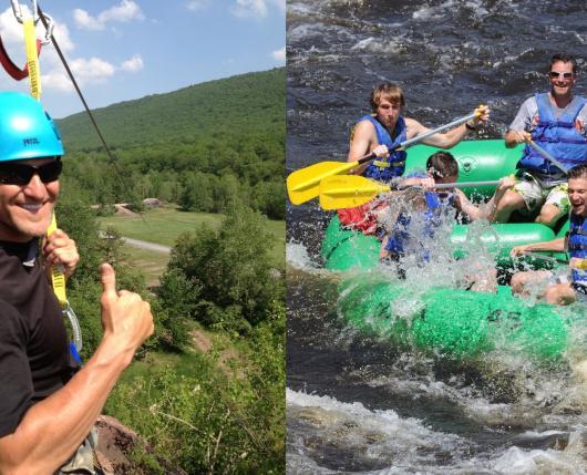 Rafting/Zipline