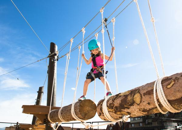 Kids' Adventure Course, Park City Mountain