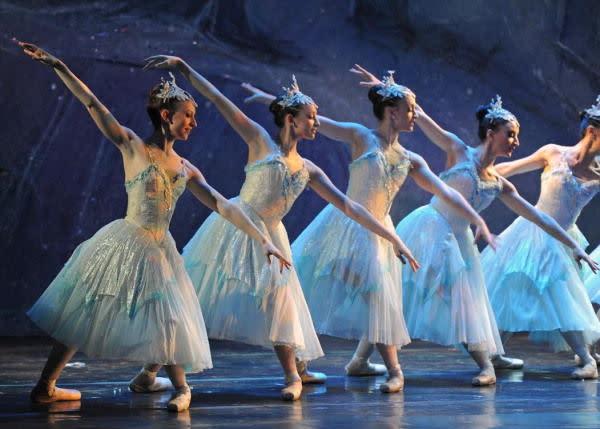 Nutcracker ballet dancers