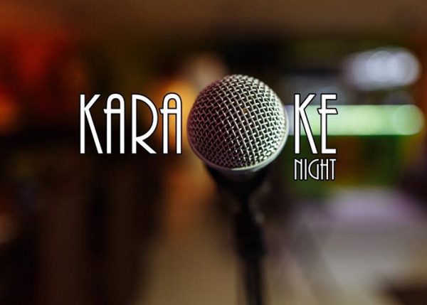 Microphone and Karaoke Night