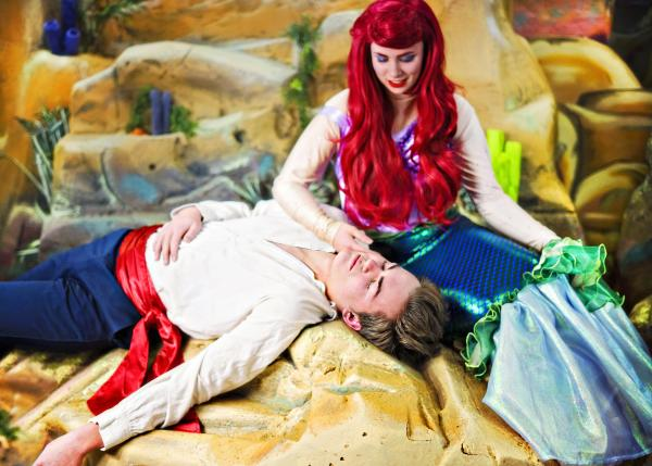 SCERA performs the Little Mermaid - Acting Up