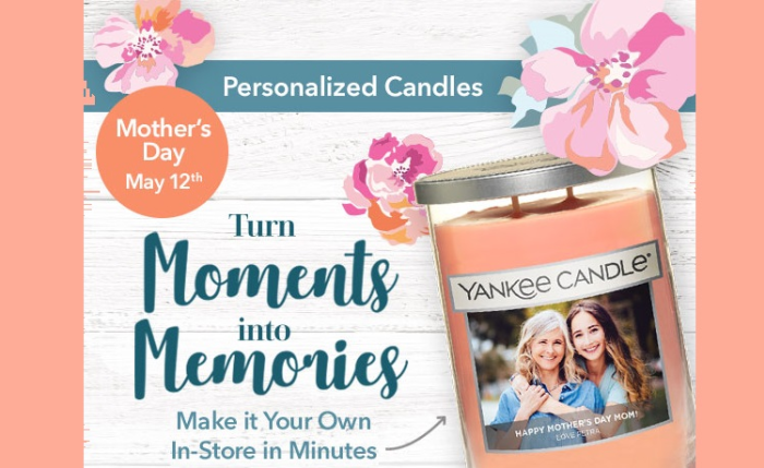 Yankee Candle Irvine Mothers Day Promo