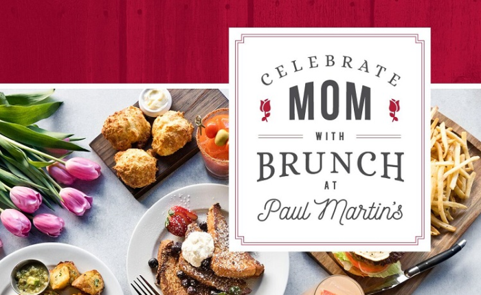 Paul Martins Irvine Mother's Day Brunch