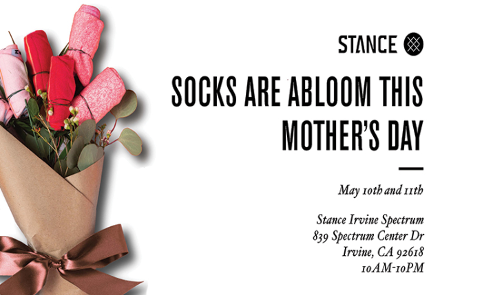 Stance Irvine Mother's Day Events