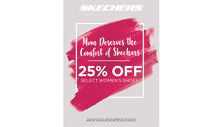 Sketchers Mother's Day Promo Irvine