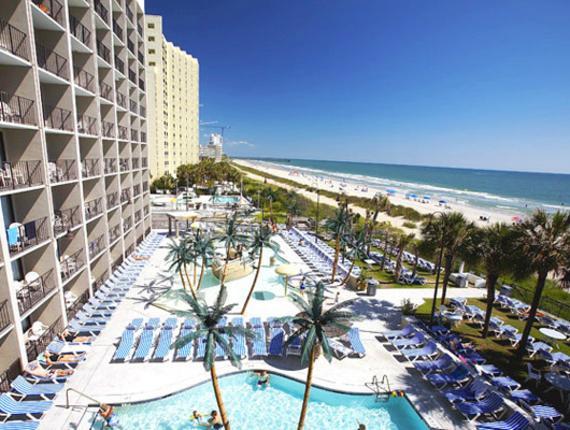 Myrtle Beach Resorts >> Captain S Quarters Oceanfront Resort