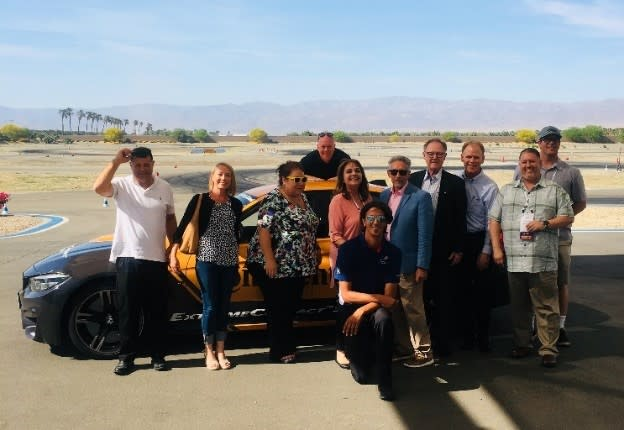 CS FAM at the BMW Performance Driving School