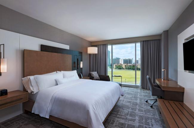 King Room at the Westin Irving Convention Center at Las Colinas