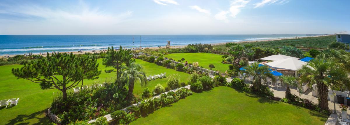 Ocean View of the Blockade Runner Beach Resort