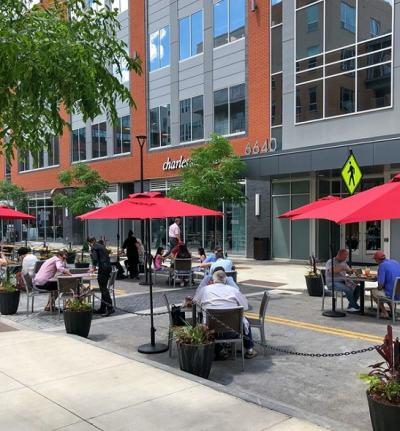 Extended Patios at Bridge Park