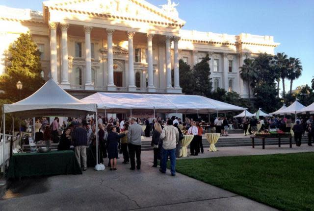 Sacramento Farm-to-Fork Legends of Wine event