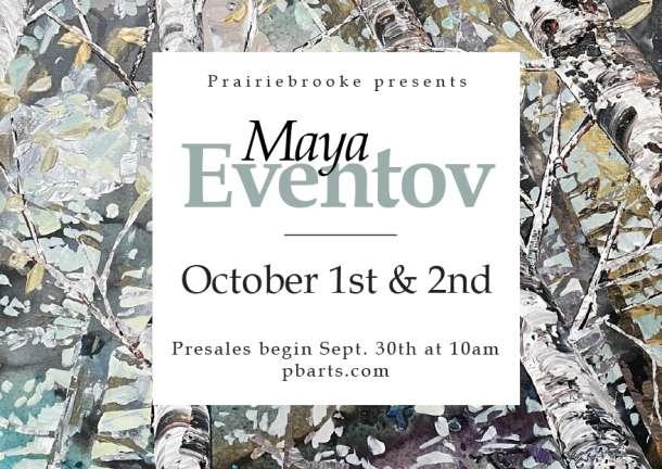 Maya Eventov -- Artist Reception at Prairiebrooke