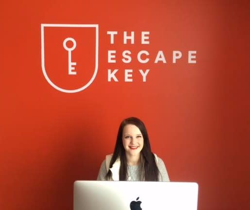 Escape Key front desk