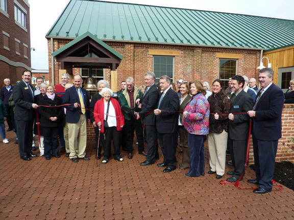 Visitor Center Ribbon Cutting
