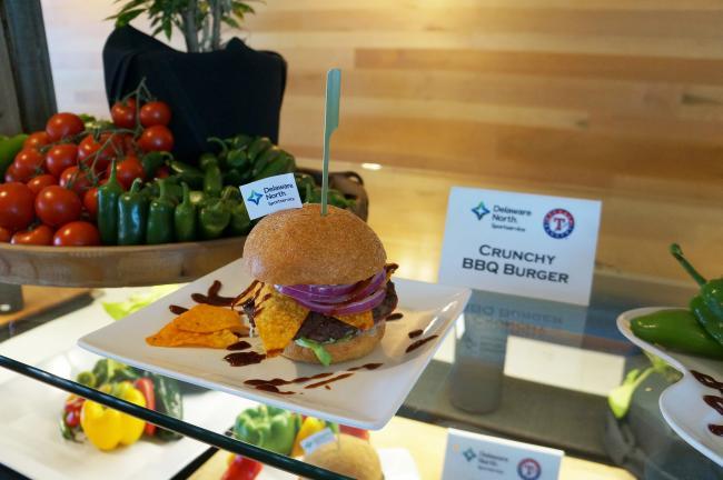 crunchy bbq burger