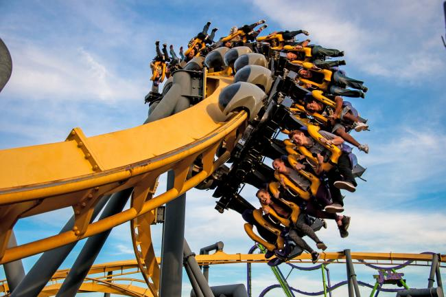 batman roller coaster