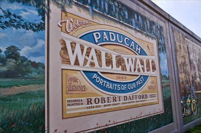 """Paducah """"Wall to Wall"""" Murals"""