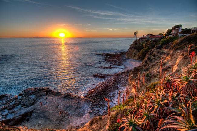 Crescent Bay Park Sunset