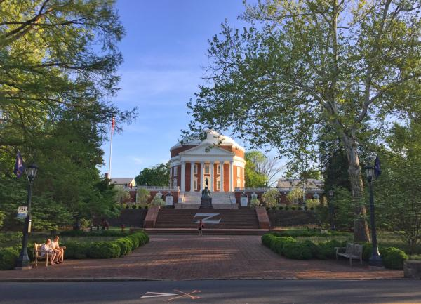 Rotunda in Spring
