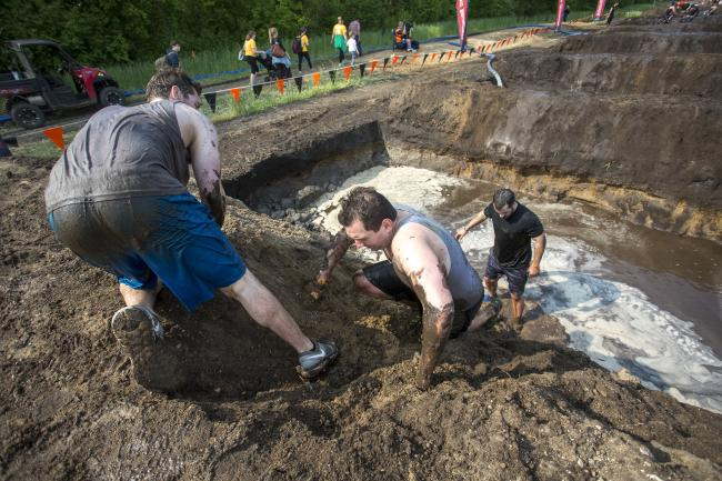 tough mudder participants mile of mud