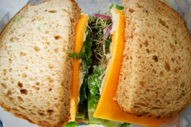 Veggie Sandwich at Eau Claire Cheese & Deli in Eau Claire, WI