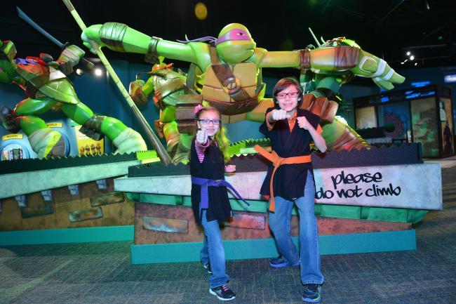 Teenage Mutant Ninja Turtles Exhibit at The Strong