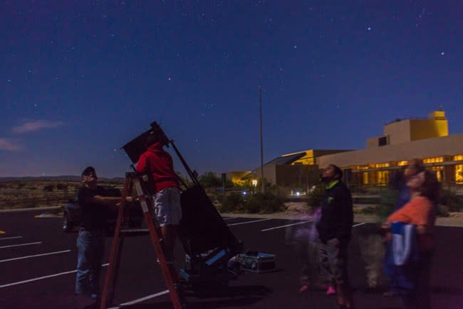 Carlsbad Caverns Dark Skies Party