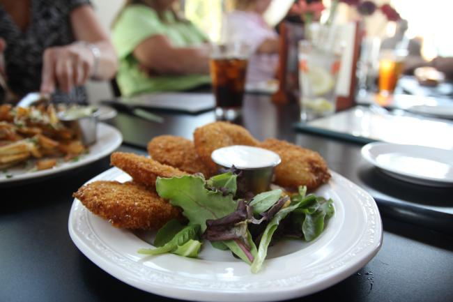 Sweetgrass Fried Green Tomatoes