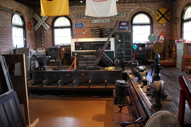 Dequincy Railroad Museum Interior