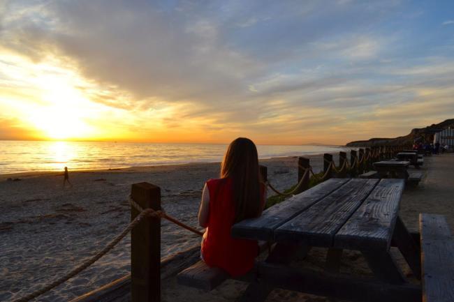 Crystal Cove Beach Sunset