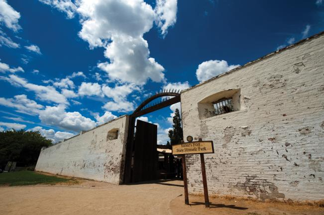 Sutter's Fort in Midtown Sacramento