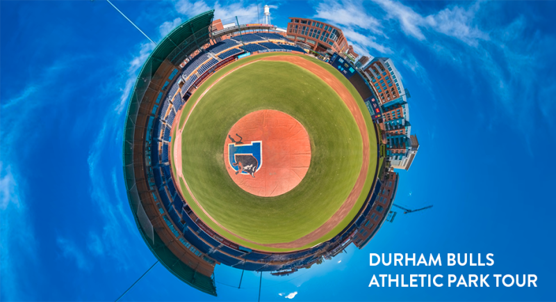 Durham Bulls athletic park tour