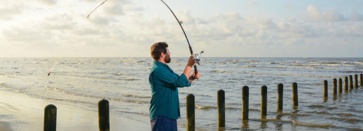 fishing at sea rim state park