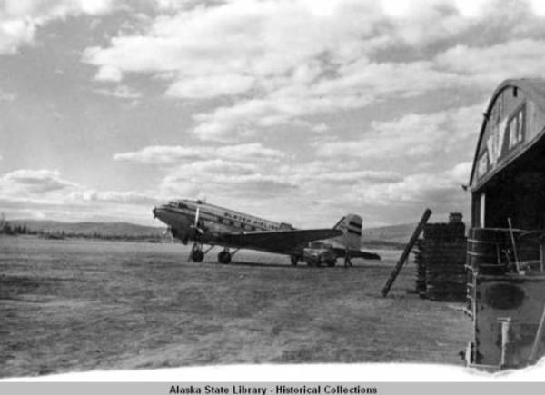 Taken during Voyages of North Star. Roll#1. Aug & Sept 1949. Probably taken en route to meet the North Star, FBX [Fairbanks]