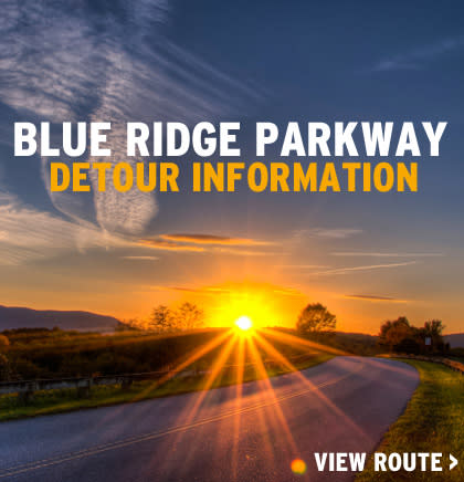Blue Ridge Parkway Detour - Roanoke, Virginia