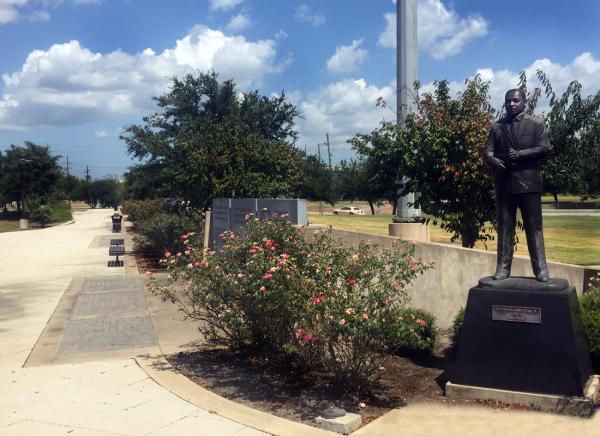 MLK Jr. Park in Beaumont, Texas