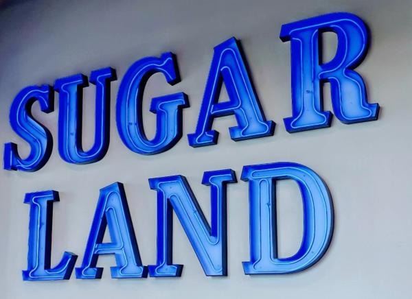 SUGAR LAND Sign