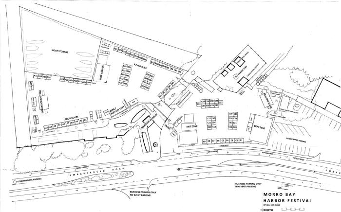 Harbor Festival Map
