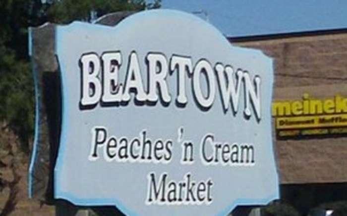 Beartown sign