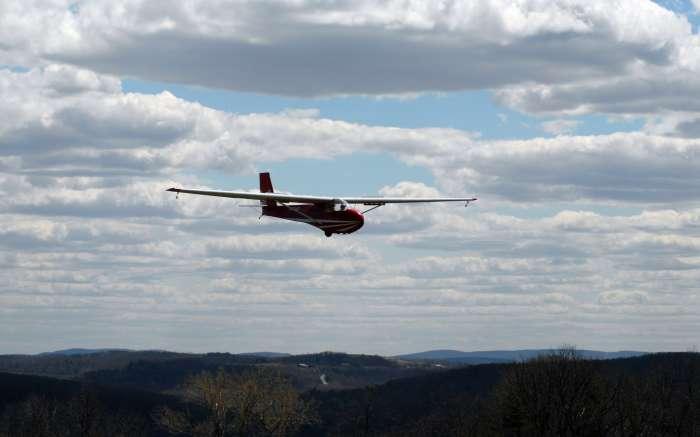 Glider Ride at Harris Hill